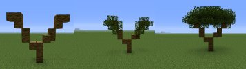 minecraft tree instructions image