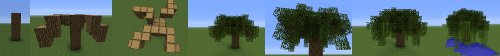 minecraft willow instructions image
