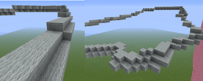 minecraft wing building tutorial image