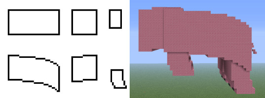 minecraft advanced pixel art tutorial image