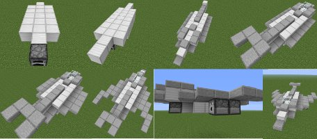 miencraft fighter jet instructions