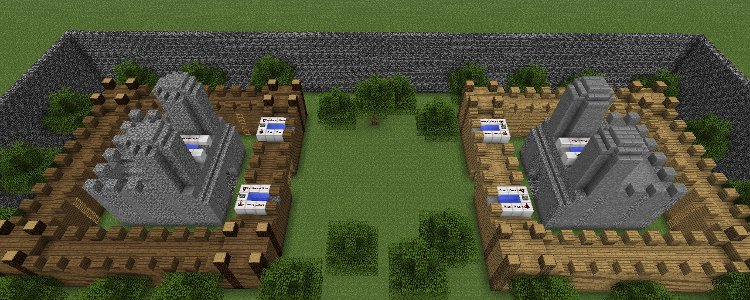 Minecraft Castle Wars Mini Game Minecraft Guides