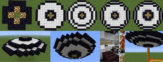 minecraft ufo instructions image