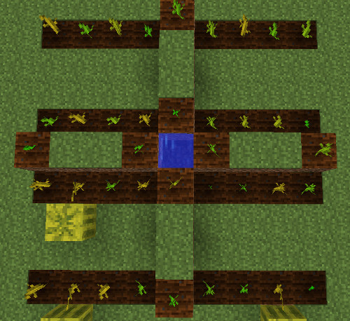 minecraft melon farm image