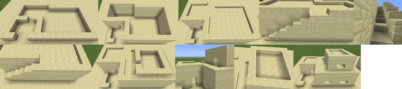minecraft middle eastern house instruction image
