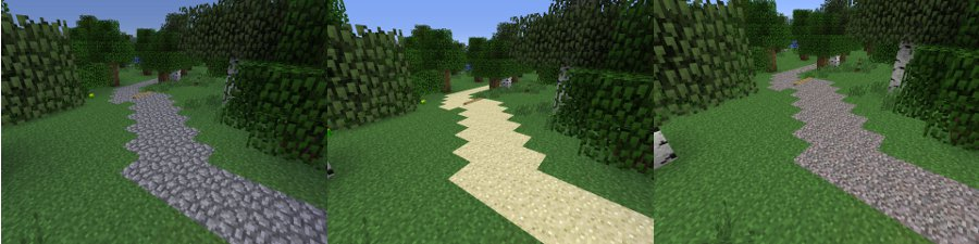 minecraft road type image