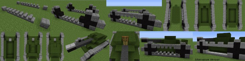 minecraft tank instruction image