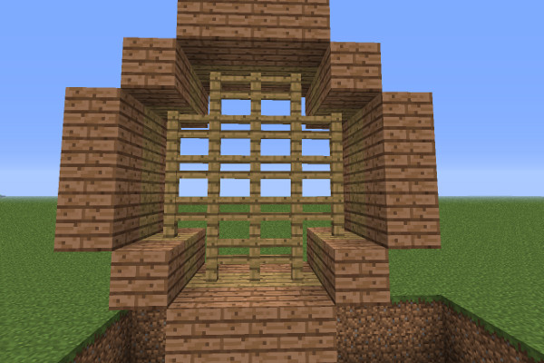 minecraft watermill image