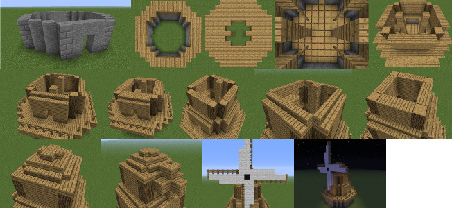 minecraft windmill image