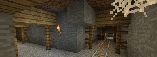 minecraft abandoned mineshafts