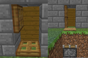 Secret doors hidden passages and escape routes & Secret doors hidden passages and escape routes - Minecraft Guides pezcame.com
