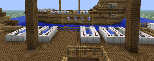 Minecraft Pirate Battles
