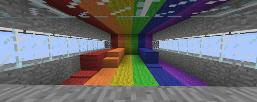 Minecraft Rainbow Runner