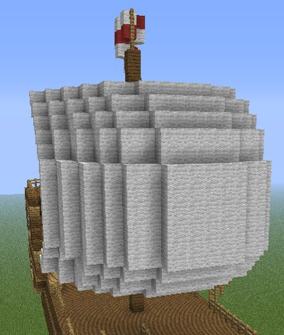 minecraft ship sails image