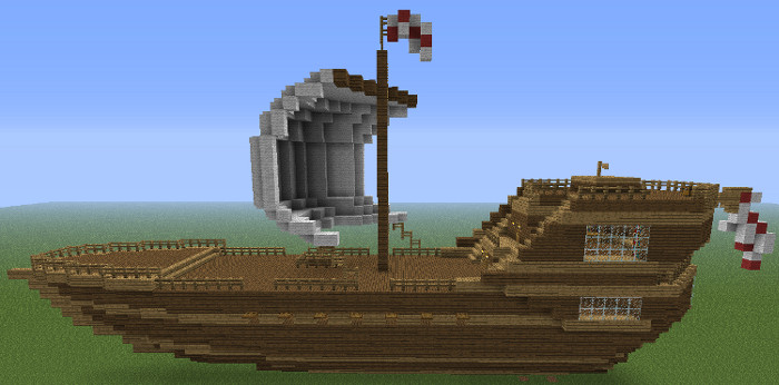 How to Build a Ship in Minecraft - Minecraft Guides